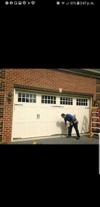 Style garage door good price Springfield, 22153