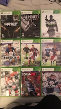 Xbox 360 game package Clinton, 08809