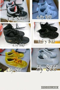 four pairs of assorted shoes Las Cruces, 88001