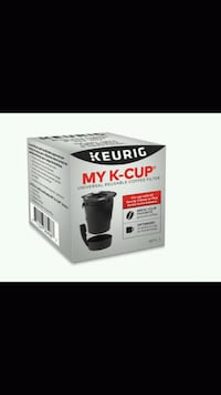 Keurig® My K-Cup® Universal Reusable Coffee Filter North Vancouver, V7J 3H4