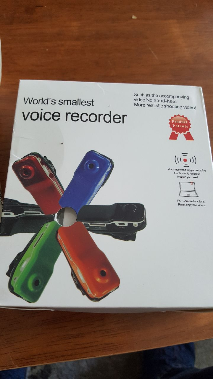 world's smallest voice recorder box for sale  Richmond Hill