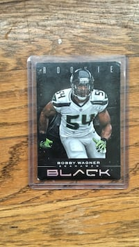 rookie bobby wagner black card Seattle, 98109