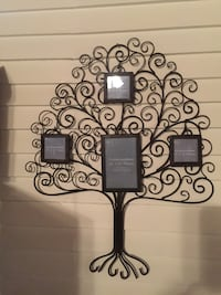 Metal family tree wall art Keeseville, 12944