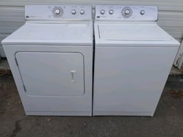 Maytag electric top loader set, free delivery!