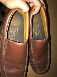 pair of brown leather loafers Milton, L9T 5L4