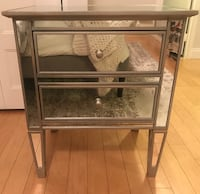 Pottery Barn Mirrored Night Stand Brookline, 02446