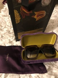 Authentic Brown Gucci Sunglasses (Woman's) Waldorf, 20601