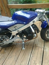 blue and gray Yamaha sports bike Hyattsville, 20785