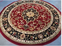 8 Foot Round Persian Rug; Unused, New with tags Takoma Park
