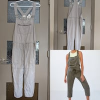 Wilfred Free Valletta grey overalls retail$150