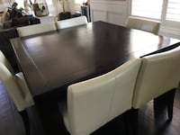 Urban Barn 55 x 55 Yoshi Square table- Chairs not included Pickering