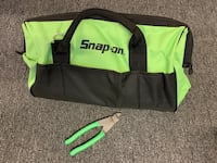 """Holy Cow that's green! Snapon Toolbag and 7"""" diagonal cutters Ripon, 95366"""