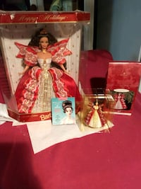 Holiday Barbie and ornament