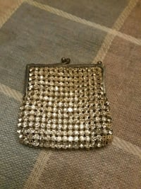 Sterling silver rhinestone bag 1930s Filer, 83328