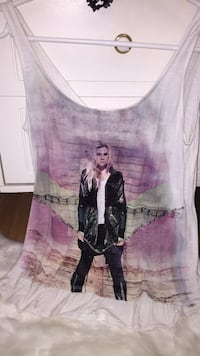 women's white and pink tank top 3482 km
