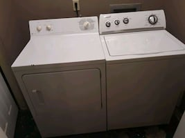 GE dryer, Whirpool washer