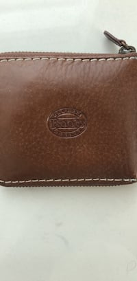 Roots Leather Wallet Hamilton, L8L 0B7