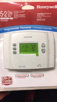 Honeywell. Thermostat   5 2 Day New Burke, 22015