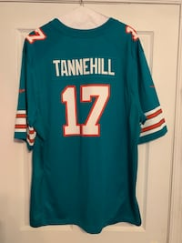 Ex-Miami Dolphins Throwback #17 Tannehill Jersey New York, 10312