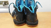 pair of black-and-blue Nike basketball shoes Orange Park, 32065