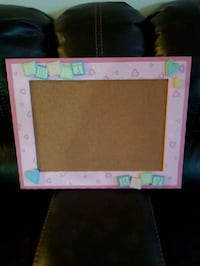 NEW Pin Board with the pink wooden frame London, N6K 2X6