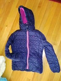 blue and pink zip-up bubble jacket Manassas, 20109