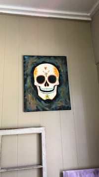 Sugar skull Day of the Dead Painting Diana, 75640