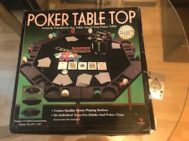 Men's Valentine's Day gift lot of new poker player items worth $250