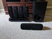 LG Blu-Ray Home Theater System. Model LHB953. Cables not included.  Manassas, 20109