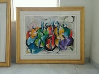 David Schluss Signed Painting Limited Edition