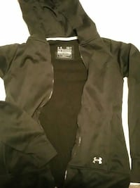 black Under Armour zip-up hoodie Lincoln, 68502