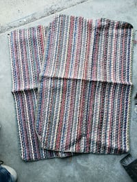 white, red, and blue stripe textile Saint Paul, 55104