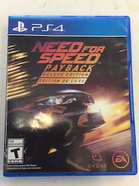 PS4 Need for Speed game case Manassas Park, 20111