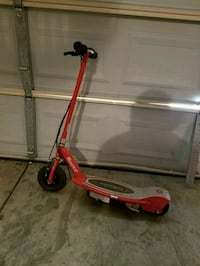 red and gray Razor electric scooter Fresno