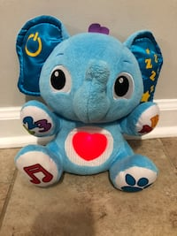 Little tikes learning elephant