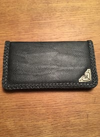 black leather bi-fold wallet Montréal, H2G 1Z1