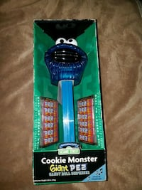 Giant pet dispenser cookie monster