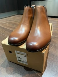 Brand new Zara Brown Mens Chelsea Boots US 7 Vancouver, V5Y 3N7