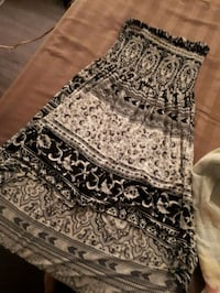 black and white tribal print skirt Winnipeg, R3A