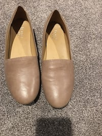 Comfy taupe Franco Sarto flats size 12 Beverly, 08010