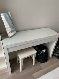 IKEA Make-up table with stool  TORONTO