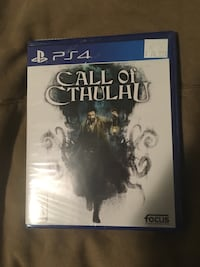 Call of Cthulhu for ps4 Calgary, T3C 0X9