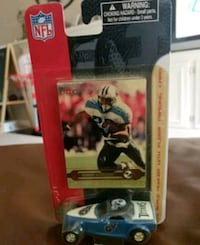 Eddie George Tennessee Titans with hot wheels car Germantown, 20876