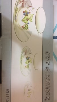 Kitchen cup and saucer set