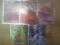 three assorted Pokemon trading cards Gatineau, J8T