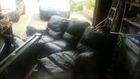 3 seat reclining leather  sofa Everett, 98208