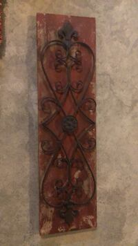 brown wooden wall decor with brown wooden frame Warrenville, 60555