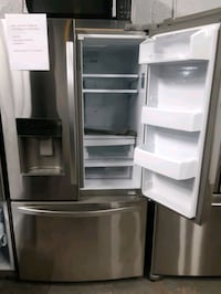 KENMORE STAINLESS STEEL FRENCH DOORS FRIDGES WORKING PERFECTLY