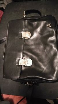 black leather Michael Kors tote bag Jackson, 38305