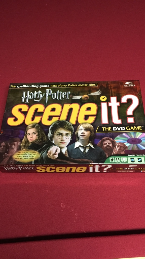 Harry Potter DVD Family Board Game